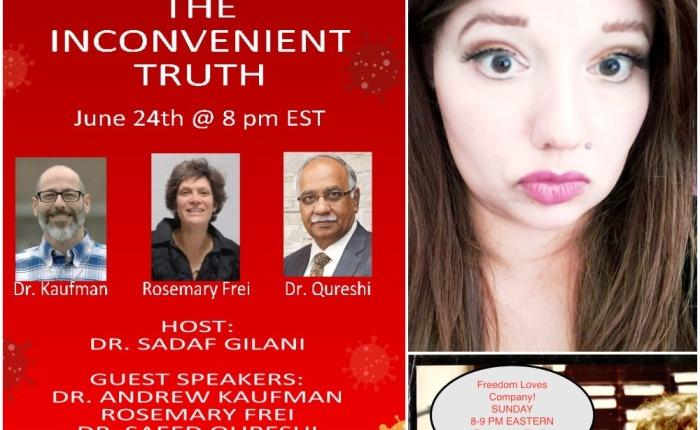 Sadaf Gilani: Inconvenient Truths AboutSARS-COV-2